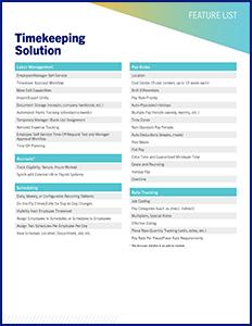 Excelforce-timekeeping-feature-list