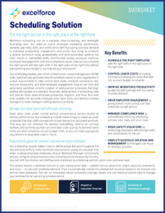 Scheduling Solution Guide | 300px